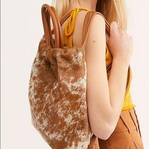 Free people x prime cut cinch backpack